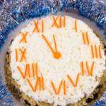 Салат новогодний «Под бой часов» с индейкой