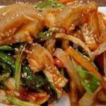 Закуска из свиной шкуры по-корейски