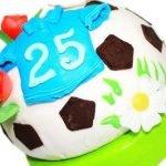 Идеи тортов для любителей футбола в картинках