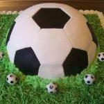 Варианты футбольных тортов для детей и взрослых