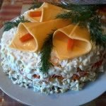 """""""Каллы"""" из сыра и других продуктов - идеи оформления"""
