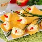 Каллы из сыра — просто и красиво! (МК)