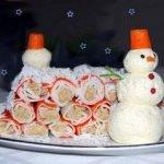 Идеи оформления новогодних блюд