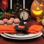 Кошмарная сервировка для Хэллоуина. Ввариант оформления праздничного стола