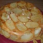Заливной пирог с картофелем и курицей