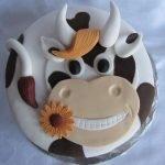 """""""Счастливая корова"""" и другие торты на год Быка"""